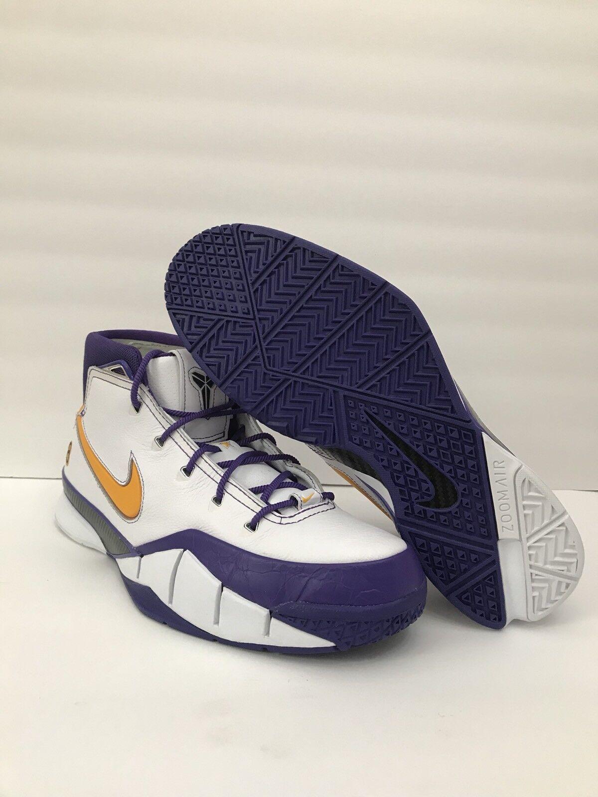 Nike kobe 1 protro glaube 16 schließen letzten sekunden sekunden letzten aq2728-101 mamba sz 12 selten! 54ef8f