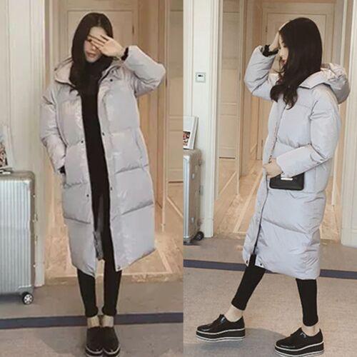 Jacket Coat Down Hooded Loose Winter Women Cotton Outwear New Warm long Padded