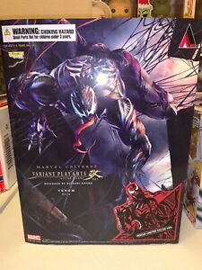 Marvel Universe Variant Play Arts Kai Venom PVC Action Figure Statue