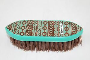 Navajo Sunset Stiff Bristle Horse Grooming Brush Outdoor Sports