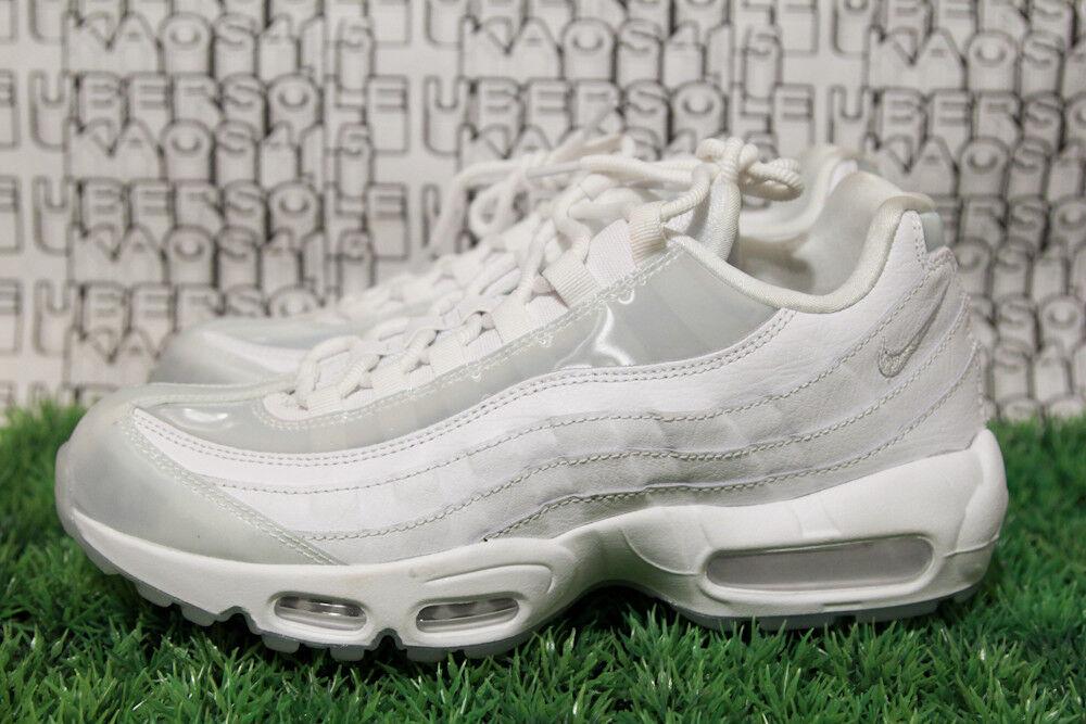 check out f7566 f49d4 ... Nike Air Max 95 SE SE SE 918413 100 White Platinum qs HOLOGRAM CLEAR  WOMEN 10 ...