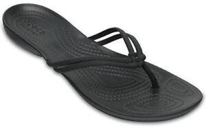W Women's BlackBlack eBay Flip Isabella 060 Sandal Crocs 204004 vwqfCExS4