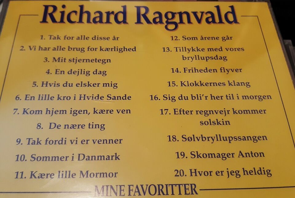 Richard Ragnvald: Mine favoritter, pop