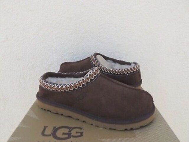 4216e7dc70c UGG Australia 5955 Women s Tasman Slippers Chocolate Authentic 10 ...