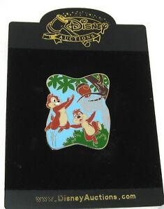 Rare Le 500 Disney Auction Pin Chip Dale Basketball Tree Nut Basket Sport Ebay