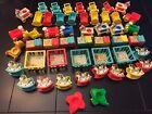 Vintage Fisher Price Little People Huge Lot Nursery Toys & Furniture Planes