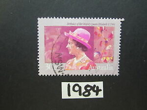 Australian-Stamps-1984-Birthday-of-Queen-Elizabeth-II-Used