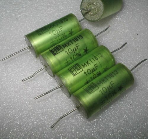 10UF 100V 10/% 15*30MM Used ERO Polyester Film Axial Coupling Capacitors MKT1813
