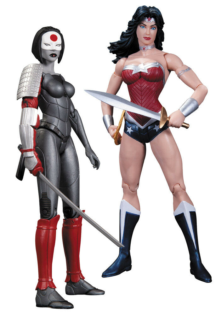 The New 52 pack 2 figurines Wonder Woman vs. Katana DC Collectibles