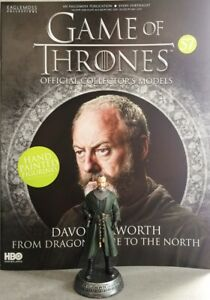 Game-Of-Thrones-GOT-Official-Collectors-Models-57-Davos-Seaworth-Figurine-NEU
