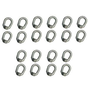 10 PCS Eye Nut Drop Forged Carbon Steel 1,250lbs Bail Size 5//16 Tap Thread 3//8