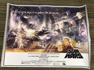 STAR-WARS-THE-EMPIRE-STRIKES-BACK-1995-LUCASFILMS-Galaxy-Far-Far-Away-Poster