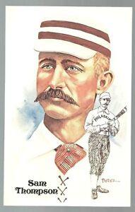 146-SAM-THOMPSON-Perez-Steele-Hall-of-Fame-Postcard