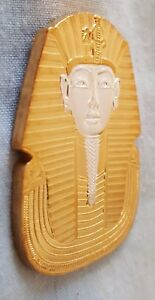 Egyptian Pharaoh Gold & Silver Coin Death Mask Sphinx Mummy Cairo Gods Beautiful