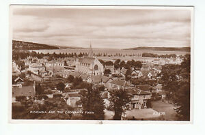 Dingwall-General-View-Ross-shire-1935-Real-Photograph-Valentines-A3335-Old-PC