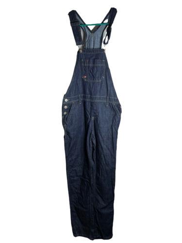 Dickies Women's Denim Bib Overalls Carpenter Jean… - image 1