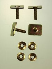 Mk2 Escort Side Chrome Trim Fasteners Mexico RS2000 Twincam Brand Spanking New!