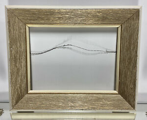 VTG-Aesthetic-Mid-Century-Art-Deco-Wood-Picture-Frame-Fits-9-034-x-12-034