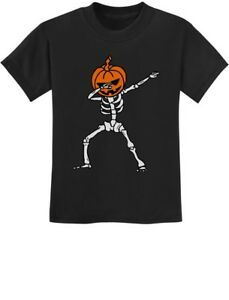 Halloween Dab Jack O/' Lantern Dabbing Pumpkin Skeleton T-Shirt Funny