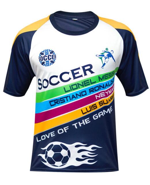 designer fashion 44215 3a2db Men Football Jersey Soccer T Shirt 2018 fifa world cup Fan