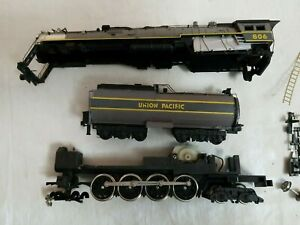 BACHMANN HO UNION PACIFIC 4-8-4 NORTHERN No. 806 w/TENDER - FOR PARTS / REPAIR