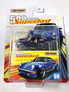 NEW-2019-Matchbox-50th-Anniversary-SuperFast-80-Porsche-911-Turbo