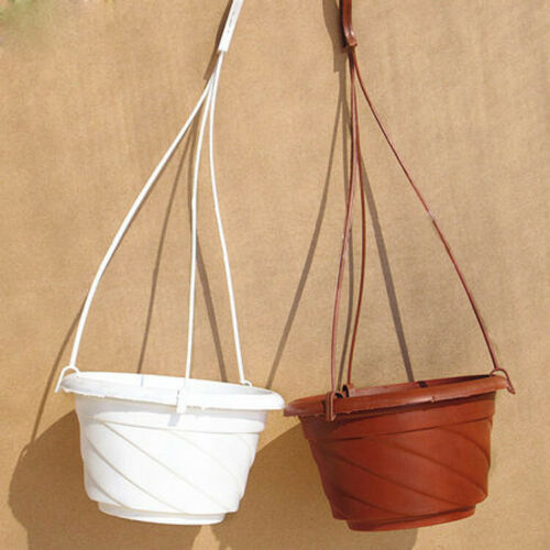 Home Garden Balcony Hook-type Hanging Flower Plant Pot Basket Planter Holder A++