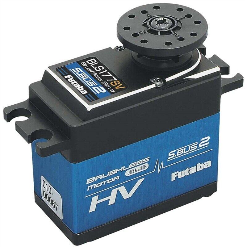 Futaba BLS177SV S.autobus2 HV  Ultra Torque tutti Metal Case Servo FUT-01102227-1  nuovo stile