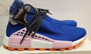 the best attitude 6af36 6b5d7 Details about ADIDAS PW SOLAR HU NMD EE7579 HUMAN RACE PHARRELL INSPIRATION  POWDER BLUE