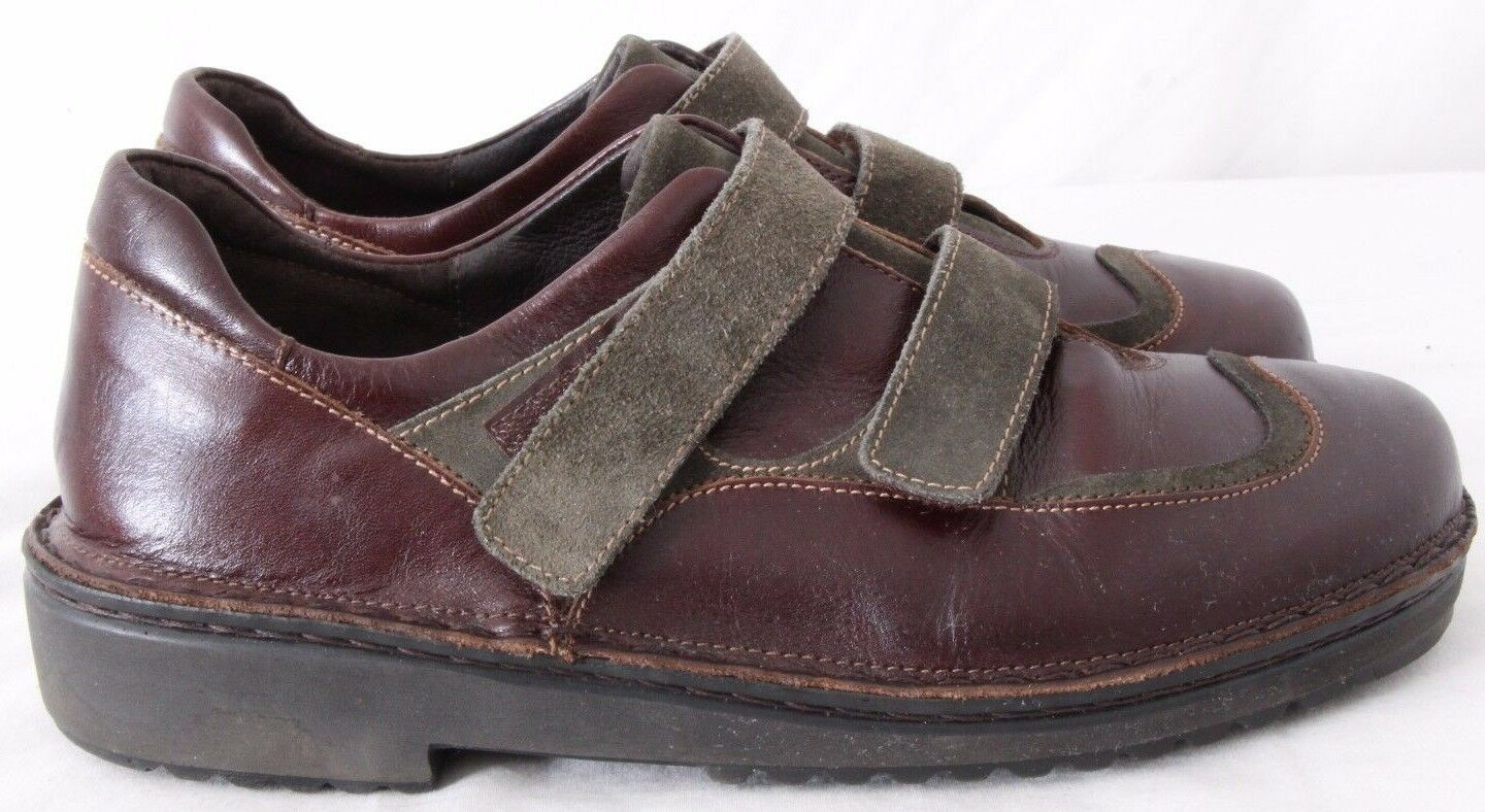 Naot Israel Two-Toned Double Strap Wingtip Oxfords Women's EURO 39 (US 8.5)