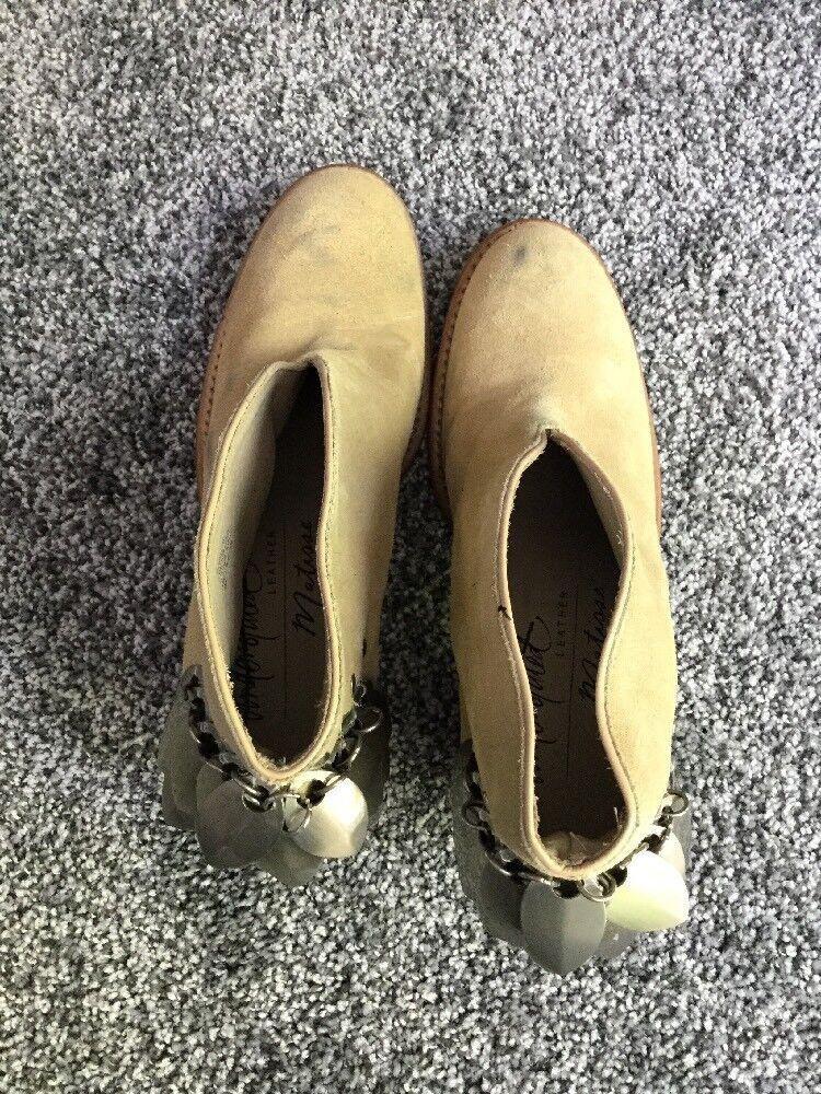 Nuevo Matisse X discreto cuero doble Jay botas talla talla talla 7 37667a