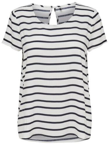 ONLY Damen T-Shirt Bluse onlFIRST TOP Tunika Sterne Punkte Streifen Vögel Herzen