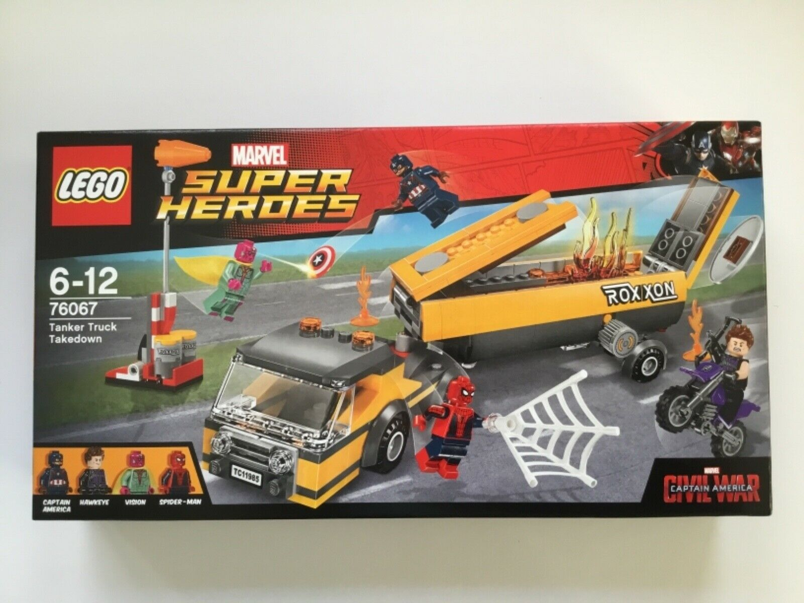 LEGO Marvel Super Super Super Heroes 76067 Tanklaster-Überfall - NEU OVP fad39a