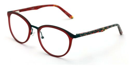 Round Circle Oval Clear Lens Glasses Eyeglasses Non-Prescription Rx/'able Frame