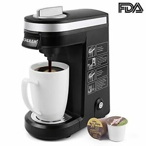 Chulux Single Serve K Cup Coffee Maker Black For Sale Online Ebay