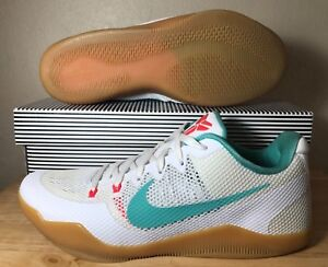 official photos b0ade c6fc0 Image is loading Nike-Kobe-XI-11-Summer-Pack-SZ-White-