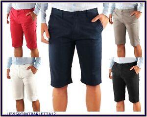 Donna Pantaloni Corti Shorts Jeans Jeans Pantaloni Casual Blu Taglia 56 58 NUOVO