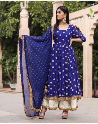 Pakistani Women Ethnic Designer Suit Women Wedding Wear Shalwar Kameej Dupatta