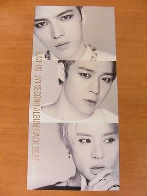 JYJ - Just Us [OFFICIAL] POSTER K-POP *NEW*