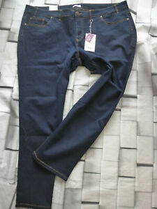 Sheego-Jeans-Trousers-Stretch-Blue-Ladies-Size-50-plus-Size-282-Deh