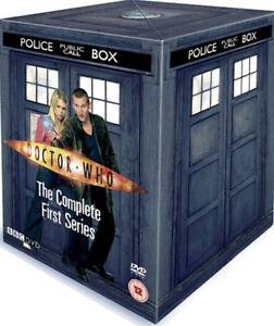 Doctor-Who-Serie-1-Complet-DVD-2005-5-Disc-Ensemble-Tardis-Boite-Ensemble