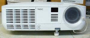 NEC-V260X-DLP-Projector-2600-Lumens-Tested-1080i-2633-hours-BAD-DISPLAY