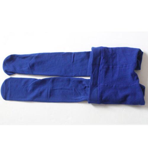Kids Girl Winter Warm Velvet Lined Full Length Stretchy Leggings Pants 3-12Years
