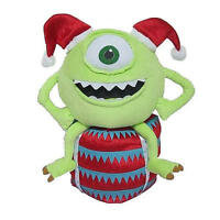 Disney Christmas Holiday Greeter - Mike On Gift Box