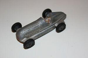 Dinky Toys post guerra Mercedes Benz Coche de Carreras de plata # 23C!!!