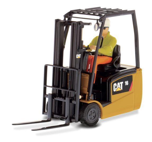 Diecast Masters 85504 échelle 1 25 Cat EP16 (C) PNY chariot élévateur à fourche (En parfait état, dans sa boîte)