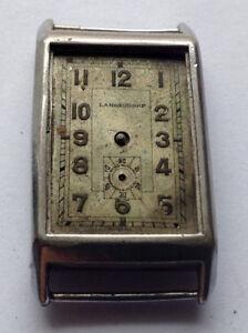 20er Jahre Art Deco Treu Langendorf Rare Vintage Swiss Uhren Vintage Swiss Watch