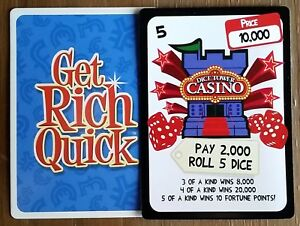 Image Is Loading Get Rich Quick Dice Tower Casino Promo 2