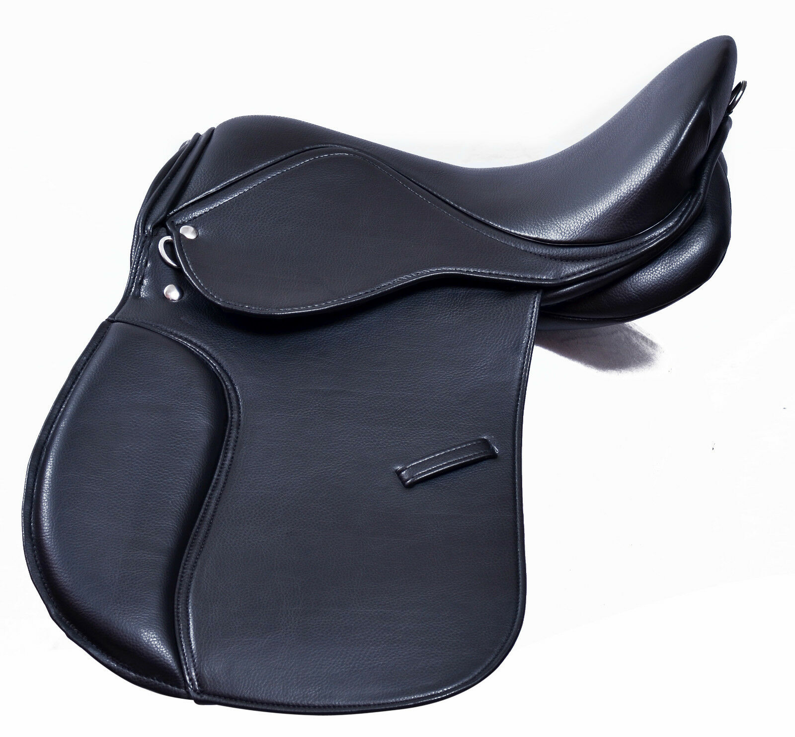 Synthetic General Purpose Purpose Purpose Halflinger Saddle Wide fit 16, 17 & 18 Premium Quality 0176e6