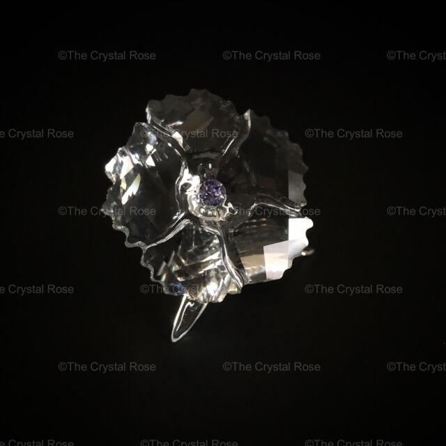RARE Retired Swarovski Crystal Amur Flower SCS Gift 2019 5428547 Mint Boxed